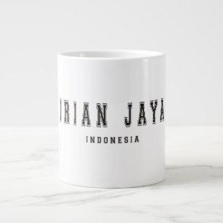 Irian Jaya Indonesia Large Coffee Mug