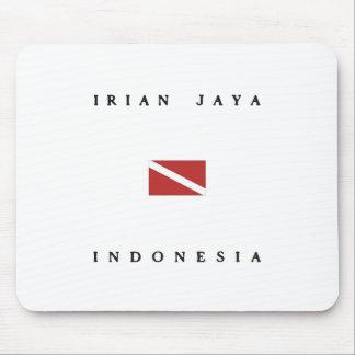 Irian Jaya Indonesia Scuba Dive Flag Mouse Pad
