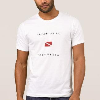 Irian Jaya Indonesia Scuba Dive Flag T-Shirt