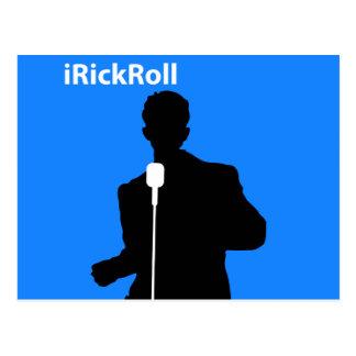iRickRoll Tarjeta Postal