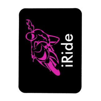 iRide magent Rectangular Photo Magnet