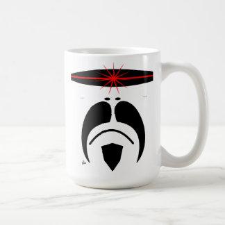 iRide Moustache Cylon Visor Coffee Mug