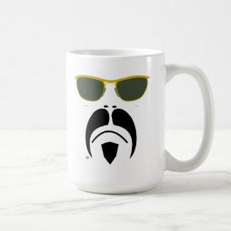 iRide Moustache Easy Rider II Sunglasses Classic White Coffee Mug