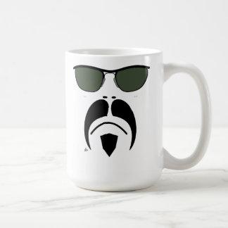 iRide Moustache Easy Rider Sunglasses Classic White Coffee Mug
