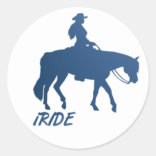 iRIDE Sticker