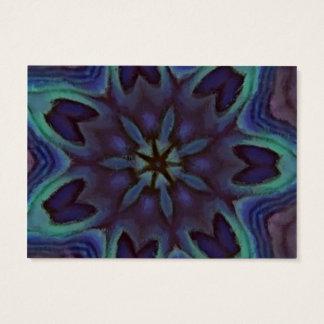 Iridescent Abalone Shell Kaleidoscope Business Card