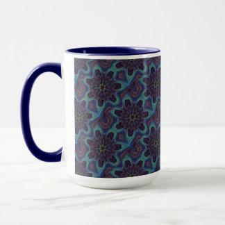 Iridescent Abalone Shell Kaleidoscope Mug