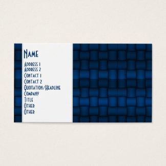 Iridescent Blocks (Blue) Business Card