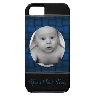 Iridescent Blocks (Blue) iPhone SE/5/5s Case