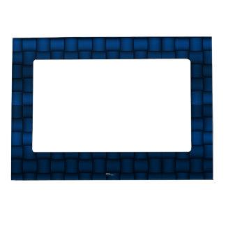 Iridescent Blocks (Blue) Magnetic Frames