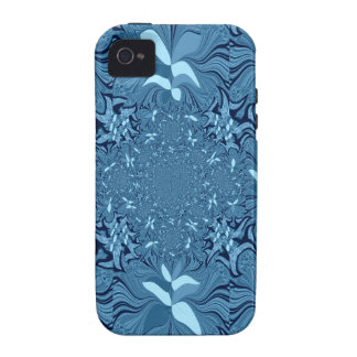 Iridescent blue. Case-Mate iPhone 4 covers