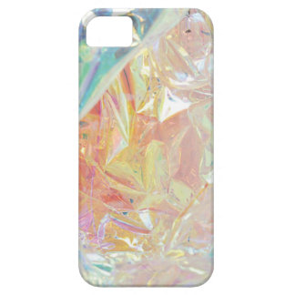 Iridescent Cellophane Radiance iPhone case