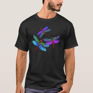 Iridescent Dive Bombing Dragonflies T-Shirt