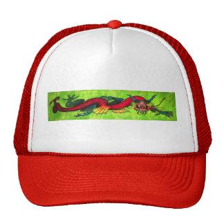 Iridescent Dragon mesh-back cap Trucker Hat