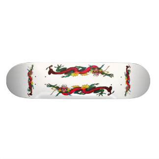 Iridescent Dragon skateboard