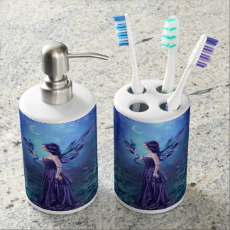 Iridescent Fairy & Dragon Art Bath Set