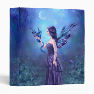 Iridescent Fairy & Dragon Art Binder