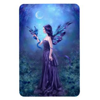 Iridescent Fairy & Dragon Art Premium Flexi Magnet