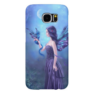 Iridescent Fairy & Dragon Art Samsung Galaxy S6 Case