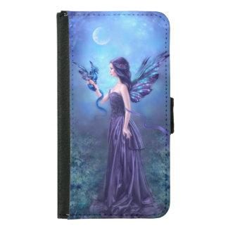 Iridescent Fairy & Dragon Galaxy S5 Wallet Case
