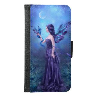 Iridescent Fairy & Dragon Galaxy S6 Wallet Case