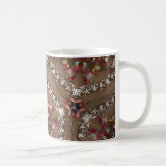 Iridescent gems mug