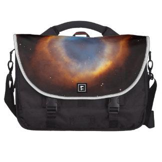 Iridescent Glory of Nearby Helix Nebula Laptop Bags