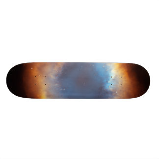 Iridescent Glory of Nearby Helix Nebula Skate Board Deck
