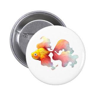 Iridescent Goldfish Pin