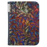 Iridescent Leaves Kindle Keyboard Covers