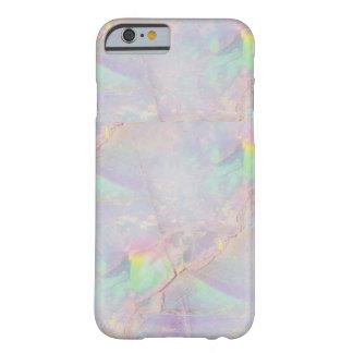 Iridescent marble mermaid stone iPhone case