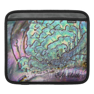 Iridescent Natural Jewel Mother-of-Pearl Sleeve For iPads