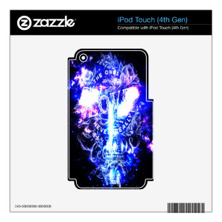 Iridescent Parisian Dreams the Ones that Love Us Decal For iPod Touch 4G