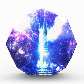 Iridescent Parisian Sky Acrylic Award