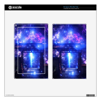 Iridescent Pathway to Anywhere Kindle Fire Decals