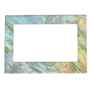 Iridescent Shell colors Magnetic Frame