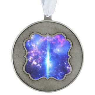 Iridescent Skies Pewter Ornament