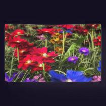 Iridescent Spring Banner