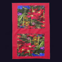 Iridescent Spring Kitchen Towel