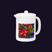 Iridescent Spring Teapot