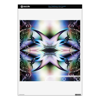 Iridescent Starfish Fractal Design Skins PS3 Slim Console Decal