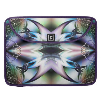 Iridescent Starfish Fractal Design Skins Sleeve For MacBook Pro