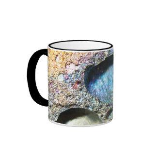 Iridescent Volcanic Rock, Hawaii Coffee Mugs