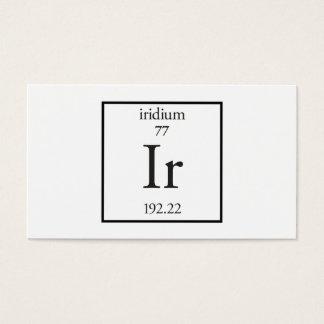 Iridium Business Card