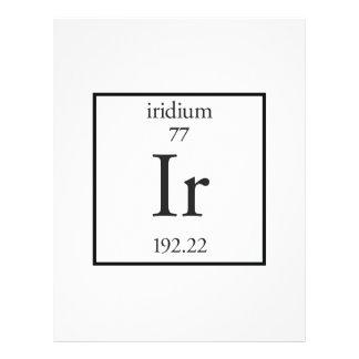 Iridium Custom Flyer