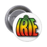 IRIE Peace 2 Inch Round Button