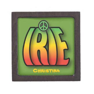 IRIE Peace Jewelry Box