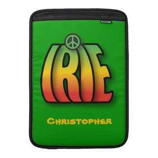 Irie Peace MacBook Sleeve