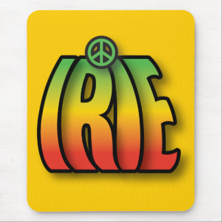 Irie Peace Mouse Pad