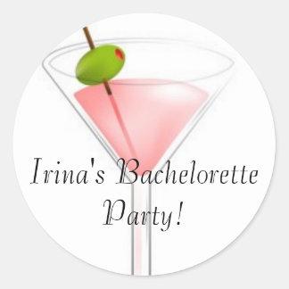 Irina's Bachelorette Party! Sticker